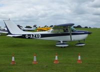 G-AZXD @ EGBK - Visiting aircraft - by Keith Sowter