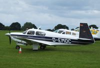 D-EMOC @ EGBK - Visiting aircraft - by Keith Sowter