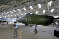 21 @ LFLQ - Dassault Super Mystere B2, Musée Européen de l'Aviation de Chasse at Montélimar-Ancône airfield (LFLQ) - by Yves-Q