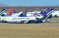N761SA @ KMHV - Southern B742F. - by FerryPNL