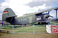 D-FONF @ EDDB - Berlin Air Show 4.6.94 ex 811 East German Airforce - by leo larsen