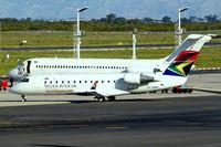 ZS-NML @ FACT - Canadair CRJ-200ER [7201] (South African Express) Cape Town Int'l~ZS 17/09/2006. Suffering from a bit of heat haze.
