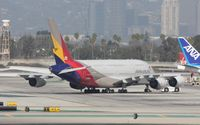 HL7634 @ KLAX - Airbus A380