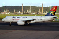 ZS-SFN @ FACT - Airbus A319-131 [2501] (South African Airways) Cape Town Int'l~ZS 18/09/2006