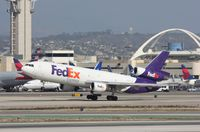 N372FE @ KLAX - MD-10-10F - by Mark Pasqualino