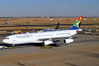 ZS-SLA @ FAJS - Airbus A340-212 [008] (South African Airways) Johannesburg Int~ZS 19/09/2006