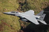 91-0306 - F-15E Strike Eagle low level. - by Andy Sneddon - airXphoto.net