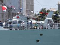 9806 - on ship in Auckland Harbour for 75th navy event - by magnaman
