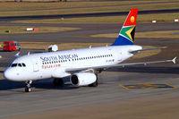 ZS-SFM @ FAJS - Airbus A319-131 [2469] (South African Airways) Johannesburg Int~ZS 19/09/2006