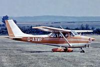 G-AXWF @ EGTH - R/Cessna F.172H Skyhawk [0697] Old Warden~G 30/06/1974. From a slide.