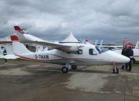 G-TNAM @ EGBK - Display aircaft