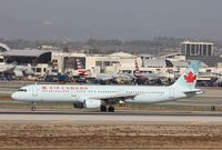 C-GITY @ KLAX - Airbus A321 - by Mark Pasqualino