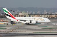 A6-EOC @ KLAX - Airbus A380-861 - by Mark Pasqualino