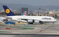 D-AIMM @ KLAX - Airbus A380-841 - by Mark Pasqualino