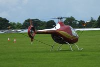 G-TRDS @ EGBK - visiting aircaft