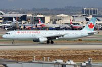 C-GITY @ KLAX - Air Canada A321 vacating the runway. - by FerryPNL