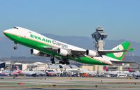 B-16483 @ KLAX - Eva B744F taking-off from LAX - by FerryPNL