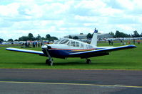 G-OEVA @ EGSX - Piper PA-32-260 Cherokee Six [32-219] North Weald~G 19/06/2004