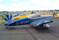G-RVMT @ EGSX - Van's RV-6 [PFA 181A-13644] North Weald~G 19/06/2004. Former scheme.