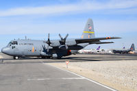 92-1538 @ KBOI - Taxing out from NIFC ramp.  153rd Airlift Wing, WY ANG. - by Gerald Howard