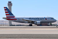 N766US @ KBOI - Landing RWY 28R in new American Airlines paint. - by Gerald Howard