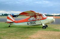 G-TECC @ EGSX - G-TECC   Aeronca 7AC Champion [7AC-5269] North Weald~G 19/06/2004. Also wears former identity of N1704E,