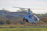 G-RSWW @ EGFH - R22 Beta, Shobdon Herefordshire based, previously N40815, seen letting down. - by Derek Flewin