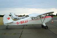 G-BRXF @ EGSX - Aeronca 11AC Chief [11AC-1033] North Weald~G 19/06/2004