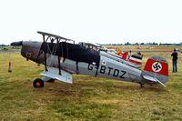 G-BTDZ @ EGSX - CASA 1.131E Jungmann [2104] North Weald~G 19/06/2004