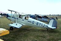 G-BYIJ @ EGSX - CASA 1.131E Jungmann [2110] North Weald~G 19/06/2004