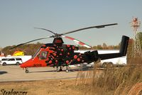 N115 @ KTOC - Kaman K-MAX (K-1200) Synchropter helping with fire-fighting in North Georgia - by Strabanzer