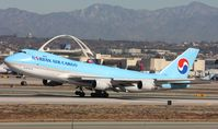 HL7462 @ KLAX - Boeing 747-400F - by Mark Pasqualino