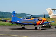 3H-FC @ LFSX - Pilatus PC-7 Turbo Trainer, Static display, Luxeuil-St Sauveur Air Base 116 (LFSX) Open day 2015 - by Yves-Q