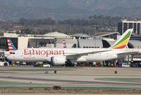ET-AOV @ KLAX - Boeing 787-8