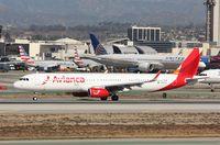 N747AV @ KLAX - Airbus A321