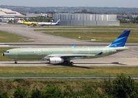 F-WWYH @ LFBO - C/n 1733 - For Garuda International Airlines - by Shunn311