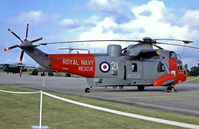 XV705 @ EGDY - Westland WS.61 Sea King HU.5 SAR [WA676] (Royal Navy) RNAS Yeovilton~G (Date unknown)