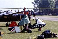 G-AXVK @ EG18 - Campbell Cricket [CA.327] Bassingbourn~G 27/05/1978. From a slide.