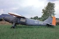 OO-VPH @ EBZW - Dornier Do-27A-3 [411] Genk-Zwartberg~OO 20/05/1982. From a slide. Earlier scheme.