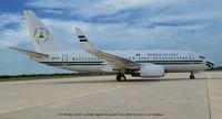 5N-FGT @ DOV - Visiting Dover AFB DE. - by J.G. Handelman
