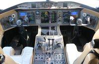9H-VJS @ ORL - Vista Jet Global 6000 cockpit