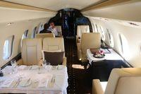 9H-VJS @ ORL - Vista Jet Global 6000