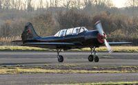 G-SPUT @ EGFH - Resident Yak-52. - by Roger Winser