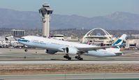 B-KQV @ KLAX - Boeing 777-300ER - by Mark Pasqualino