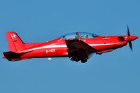 A-102 @ LSMP - Pilot School on those famous little birds built by Pilatus Aircraft Ltd at Stans. - by Grimmi