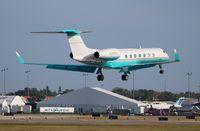 N565ST @ ORL - Gulfstream 550