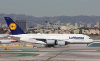D-AIMN @ KLAX - Airbus A380-841 - by Mark Pasqualino