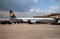 D-ABUH @ EDDK - Boeing 707-330B - Lufthansa 'Dortmund' - D-BUH - 1979 - CGN, from a slide - by RalfW