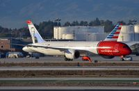 G-CIXO @ KLAX - Norwegian B789 taxying to its gate after arrival in LAX. - by FerryPNL
