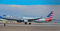 N165US @ KLAS - N165US American Airlines 2001 Airbus A321-211 - cn 1431 - Las Vegas - McCarran International Airport (LAS / KLAS) USA - Nevada December 2, 2016 Photo: Tomás Del Coro - by Tomás Del Coro